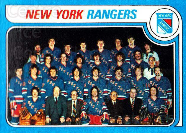 1979-80 Topps #254 New York Rangers, Checklist<br/>4 In Stock - $3.00 each - <a href=https://centericecollectibles.foxycart.com/cart?name=1979-80%20Topps%20%23254%20New%20York%20Ranger...&quantity_max=4&price=$3.00&code=137457 class=foxycart> Buy it now! </a>