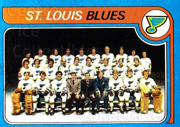 1979-80 Topps #257 St. Louis Blues, Checklist<br/>2 In Stock - $3.00 each - <a href=https://centericecollectibles.foxycart.com/cart?name=1979-80%20Topps%20%23257%20St.%20Louis%20Blues...&quantity_max=2&price=$3.00&code=137459 class=foxycart> Buy it now! </a>