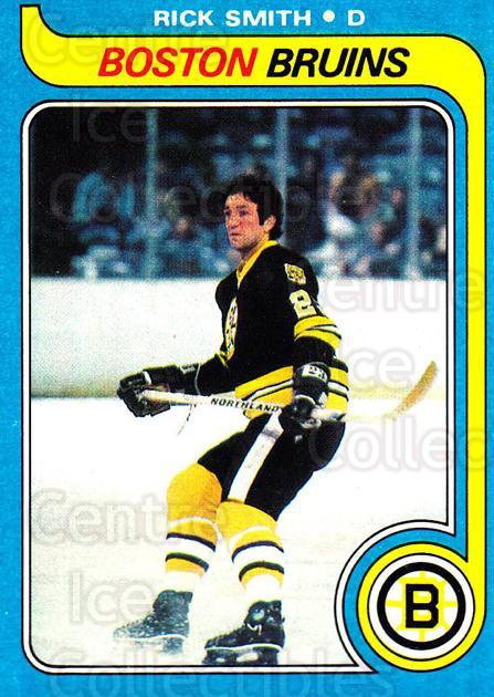 1979-80 Topps #59 Rick Smith<br/>9 In Stock - $1.00 each - <a href=https://centericecollectibles.foxycart.com/cart?name=1979-80%20Topps%20%2359%20Rick%20Smith...&quantity_max=9&price=$1.00&code=137482 class=foxycart> Buy it now! </a>