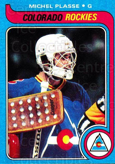 1979-80 Topps #69 Michel Plasse<br/>5 In Stock - $1.00 each - <a href=https://centericecollectibles.foxycart.com/cart?name=1979-80%20Topps%20%2369%20Michel%20Plasse...&quantity_max=5&price=$1.00&code=137489 class=foxycart> Buy it now! </a>