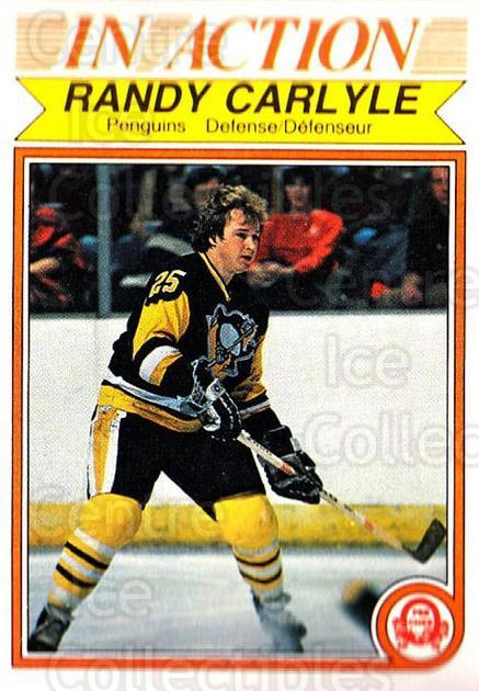 1982-83 O-Pee-Chee #266 Randy Carlyle<br/>9 In Stock - $1.00 each - <a href=https://centericecollectibles.foxycart.com/cart?name=1982-83%20O-Pee-Chee%20%23266%20Randy%20Carlyle...&quantity_max=9&price=$1.00&code=137595 class=foxycart> Buy it now! </a>
