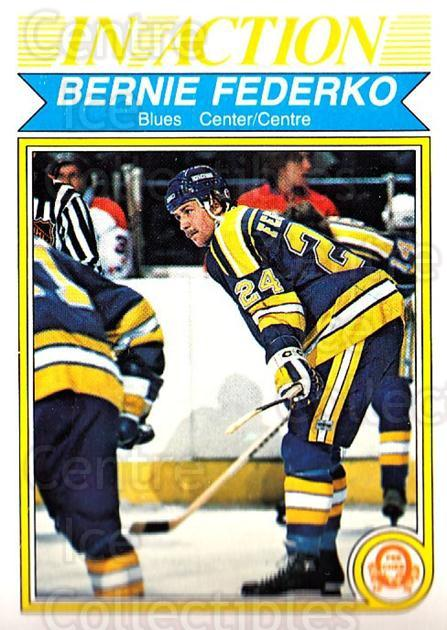 1982-83 O-Pee-Chee #303 Bernie Federko<br/>9 In Stock - $1.00 each - <a href=https://centericecollectibles.foxycart.com/cart?name=1982-83%20O-Pee-Chee%20%23303%20Bernie%20Federko...&quantity_max=9&price=$1.00&code=137636 class=foxycart> Buy it now! </a>