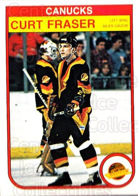 1982-83 O-Pee-Chee #343 Curt Fraser<br/>5 In Stock - $1.00 each - <a href=https://centericecollectibles.foxycart.com/cart?name=1982-83%20O-Pee-Chee%20%23343%20Curt%20Fraser...&quantity_max=5&price=$1.00&code=137678 class=foxycart> Buy it now! </a>