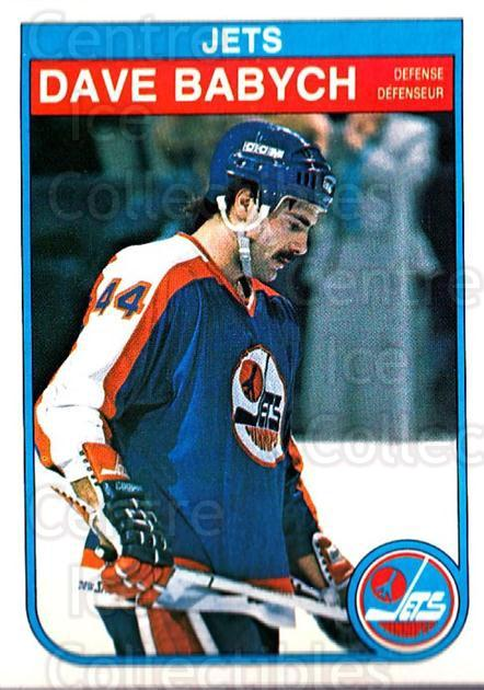 1982-83 O-Pee-Chee #375 Dave Babych<br/>7 In Stock - $1.00 each - <a href=https://centericecollectibles.foxycart.com/cart?name=1982-83%20O-Pee-Chee%20%23375%20Dave%20Babych...&quantity_max=7&price=$1.00&code=137712 class=foxycart> Buy it now! </a>