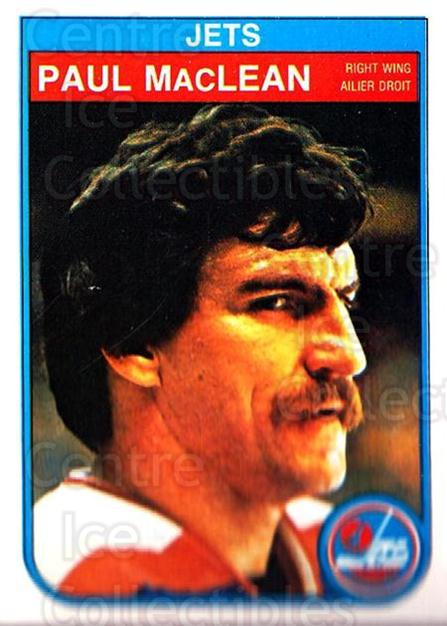 1982-83 O-Pee-Chee #386 Paul MacLean<br/>3 In Stock - $1.00 each - <a href=https://centericecollectibles.foxycart.com/cart?name=1982-83%20O-Pee-Chee%20%23386%20Paul%20MacLean...&quantity_max=3&price=$1.00&code=137723 class=foxycart> Buy it now! </a>