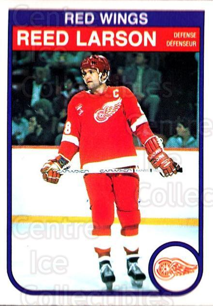 1982-83 O-Pee-Chee #88 Reed Larson<br/>6 In Stock - $1.00 each - <a href=https://centericecollectibles.foxycart.com/cart?name=1982-83%20O-Pee-Chee%20%2388%20Reed%20Larson...&quantity_max=6&price=$1.00&code=137787 class=foxycart> Buy it now! </a>