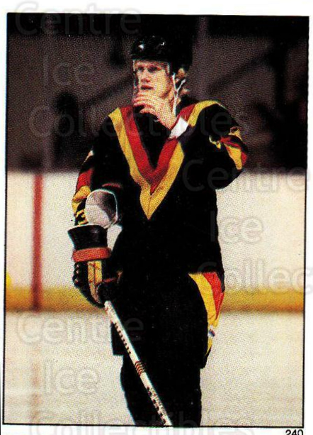 1982-83 O-Pee-Chee Stickers #240 Thomas Gradin<br/>5 In Stock - $2.00 each - <a href=https://centericecollectibles.foxycart.com/cart?name=1982-83%20O-Pee-Chee%20Stickers%20%23240%20Thomas%20Gradin...&quantity_max=5&price=$2.00&code=137799 class=foxycart> Buy it now! </a>