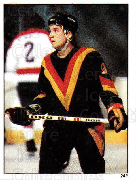 1982-83 O-Pee-Chee Stickers #242 Stan Smyl<br/>5 In Stock - $2.00 each - <a href=https://centericecollectibles.foxycart.com/cart?name=1982-83%20O-Pee-Chee%20Stickers%20%23242%20Stan%20Smyl...&quantity_max=5&price=$2.00&code=137801 class=foxycart> Buy it now! </a>