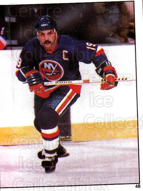 1982-83 O-Pee-Chee Stickers #48 Bryan Trottier<br/>5 In Stock - $2.00 each - <a href=https://centericecollectibles.foxycart.com/cart?name=1982-83%20O-Pee-Chee%20Stickers%20%2348%20Bryan%20Trottier...&quantity_max=5&price=$2.00&code=137841 class=foxycart> Buy it now! </a>