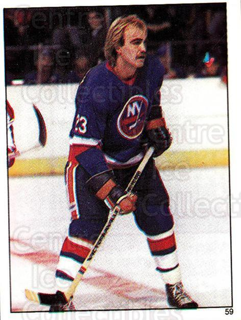 1982-83 O-Pee-Chee Stickers #59 Bob Nystrom<br/>5 In Stock - $2.00 each - <a href=https://centericecollectibles.foxycart.com/cart?name=1982-83%20O-Pee-Chee%20Stickers%20%2359%20Bob%20Nystrom...&quantity_max=5&price=$2.00&code=137852 class=foxycart> Buy it now! </a>