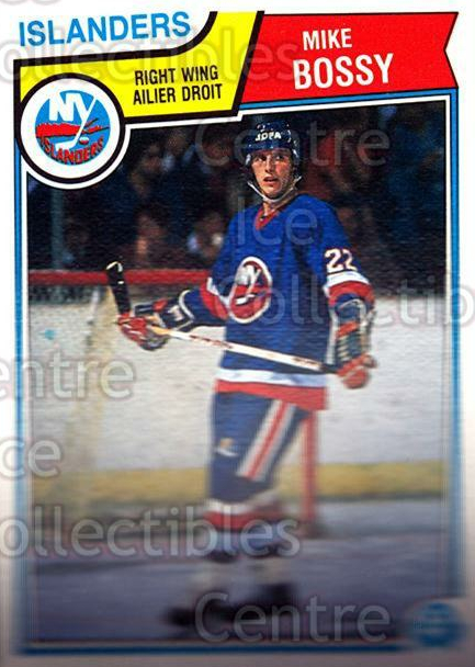 1983-84 O-Pee-Chee #3 Mike Bossy<br/>2 In Stock - $1.00 each - <a href=https://centericecollectibles.foxycart.com/cart?name=1983-84%20O-Pee-Chee%20%233%20Mike%20Bossy...&price=$1.00&code=138127 class=foxycart> Buy it now! </a>