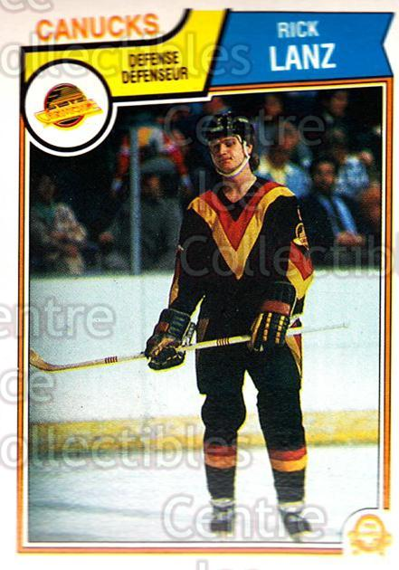 1983-84 O-Pee-Chee #353 Rick Lanz<br/>9 In Stock - $1.00 each - <a href=https://centericecollectibles.foxycart.com/cart?name=1983-84%20O-Pee-Chee%20%23353%20Rick%20Lanz...&quantity_max=9&price=$1.00&code=138185 class=foxycart> Buy it now! </a>