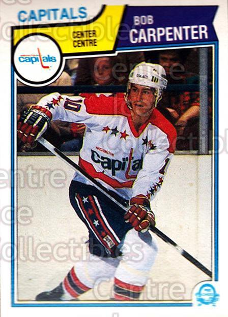 1983-84 O-Pee-Chee #366 Bob Carpenter<br/>6 In Stock - $1.00 each - <a href=https://centericecollectibles.foxycart.com/cart?name=1983-84%20O-Pee-Chee%20%23366%20Bob%20Carpenter...&quantity_max=6&price=$1.00&code=138197 class=foxycart> Buy it now! </a>