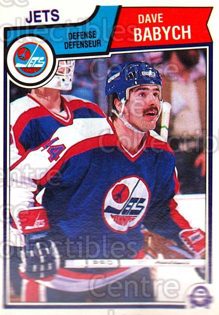 1983-84 O-Pee-Chee #380 Dave Babych<br/>11 In Stock - $1.00 each - <a href=https://centericecollectibles.foxycart.com/cart?name=1983-84%20O-Pee-Chee%20%23380%20Dave%20Babych...&quantity_max=11&price=$1.00&code=138211 class=foxycart> Buy it now! </a>