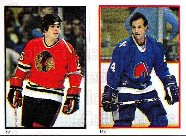 1985-86 O-Pee-Chee Stickers #026-154 Ed Olczyk, Brad Maxwell<br/>5 In Stock - $2.00 each - <a href=https://centericecollectibles.foxycart.com/cart?name=1985-86%20O-Pee-Chee%20Stickers%20%23026-154%20Ed%20Olczyk,%20Brad...&quantity_max=5&price=$2.00&code=138705 class=foxycart> Buy it now! </a>
