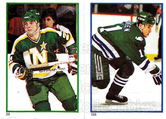 1985-86 O-Pee-Chee Stickers #039-168 Dino Ciccarelli, Kevin Dineen<br/>1 In Stock - $2.00 each - <a href=https://centericecollectibles.foxycart.com/cart?name=1985-86%20O-Pee-Chee%20Stickers%20%23039-168%20Dino%20Ciccarelli...&quantity_max=1&price=$2.00&code=138718 class=foxycart> Buy it now! </a>