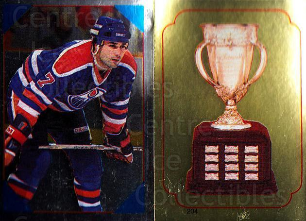 1985-86 O-Pee-Chee Stickers #056-204 Paul Coffey, Calder Trophy<br/>3 In Stock - $2.00 each - <a href=https://centericecollectibles.foxycart.com/cart?name=1985-86%20O-Pee-Chee%20Stickers%20%23056-204%20Paul%20Coffey,%20Ca...&quantity_max=3&price=$2.00&code=138735 class=foxycart> Buy it now! </a>