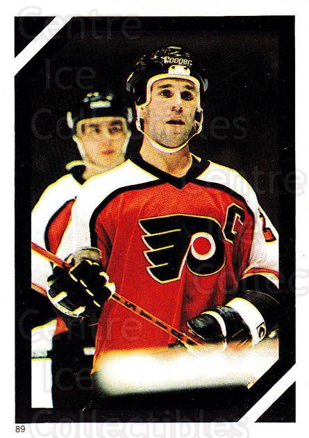 1985-86 O-Pee-Chee Stickers #089-0 Dave Poulin<br/>5 In Stock - $2.00 each - <a href=https://centericecollectibles.foxycart.com/cart?name=1985-86%20O-Pee-Chee%20Stickers%20%23089-0%20Dave%20Poulin...&quantity_max=5&price=$2.00&code=138768 class=foxycart> Buy it now! </a>
