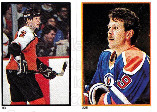 1985-86 O-Pee-Chee Stickers #093-226 Mark Howe, Willy Lindstrom<br/>5 In Stock - $2.00 each - <a href=https://centericecollectibles.foxycart.com/cart?name=1985-86%20O-Pee-Chee%20Stickers%20%23093-226%20Mark%20Howe,%20Will...&quantity_max=5&price=$2.00&code=138772 class=foxycart> Buy it now! </a>