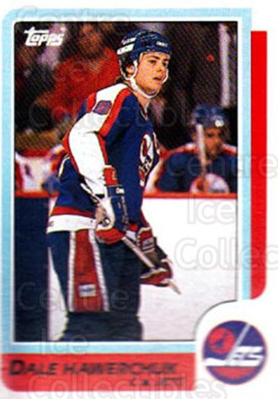 1986-87 Topps #74 Dale Hawerchuk<br/>8 In Stock - $1.00 each - <a href=https://centericecollectibles.foxycart.com/cart?name=1986-87%20Topps%20%2374%20Dale%20Hawerchuk...&quantity_max=8&price=$1.00&code=138882 class=foxycart> Buy it now! </a>