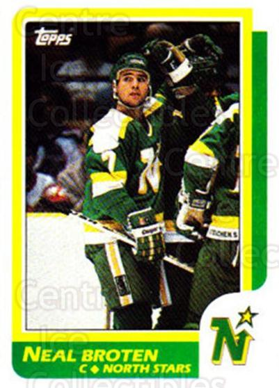 1986-87 Topps #99 Neal Broten<br/>6 In Stock - $1.00 each - <a href=https://centericecollectibles.foxycart.com/cart?name=1986-87%20Topps%20%2399%20Neal%20Broten...&quantity_max=6&price=$1.00&code=138907 class=foxycart> Buy it now! </a>