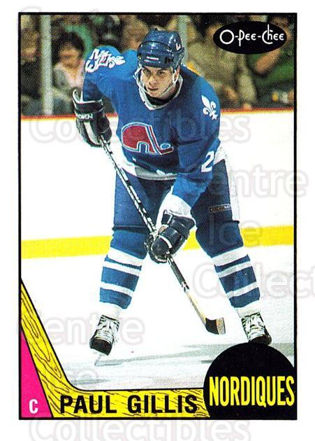 1987-88 O-Pee-Chee #247 Paul Gillis<br/>9 In Stock - $1.00 each - <a href=https://centericecollectibles.foxycart.com/cart?name=1987-88%20O-Pee-Chee%20%23247%20Paul%20Gillis...&quantity_max=9&price=$1.00&code=138908 class=foxycart> Buy it now! </a>