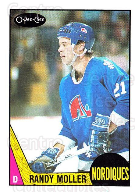 1987-88 O-Pee-Chee #251 Randy Moller<br/>9 In Stock - $1.00 each - <a href=https://centericecollectibles.foxycart.com/cart?name=1987-88%20O-Pee-Chee%20%23251%20Randy%20Moller...&quantity_max=9&price=$1.00&code=138913 class=foxycart> Buy it now! </a>