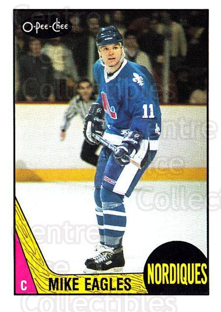 1987-88 O-Pee-Chee #253 Mike Eagles<br/>8 In Stock - $1.00 each - <a href=https://centericecollectibles.foxycart.com/cart?name=1987-88%20O-Pee-Chee%20%23253%20Mike%20Eagles...&quantity_max=8&price=$1.00&code=138915 class=foxycart> Buy it now! </a>