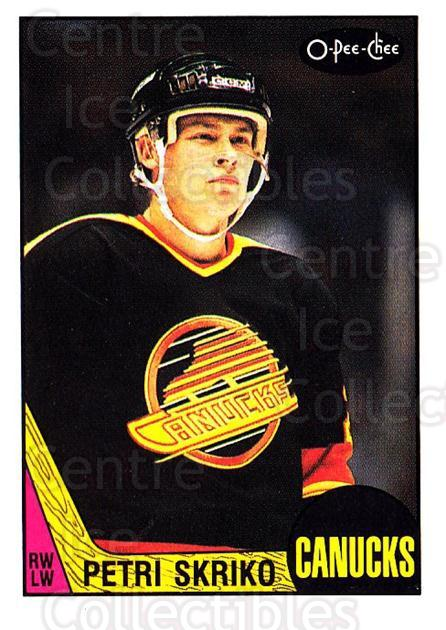 1987-88 O-Pee-Chee #255 Petri Skriko<br/>9 In Stock - $1.00 each - <a href=https://centericecollectibles.foxycart.com/cart?name=1987-88%20O-Pee-Chee%20%23255%20Petri%20Skriko...&quantity_max=9&price=$1.00&code=138917 class=foxycart> Buy it now! </a>