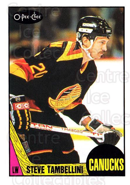 1987-88 O-Pee-Chee #259 Steve Tambellini<br/>7 In Stock - $1.00 each - <a href=https://centericecollectibles.foxycart.com/cart?name=1987-88%20O-Pee-Chee%20%23259%20Steve%20Tambellin...&quantity_max=7&price=$1.00&code=138921 class=foxycart> Buy it now! </a>