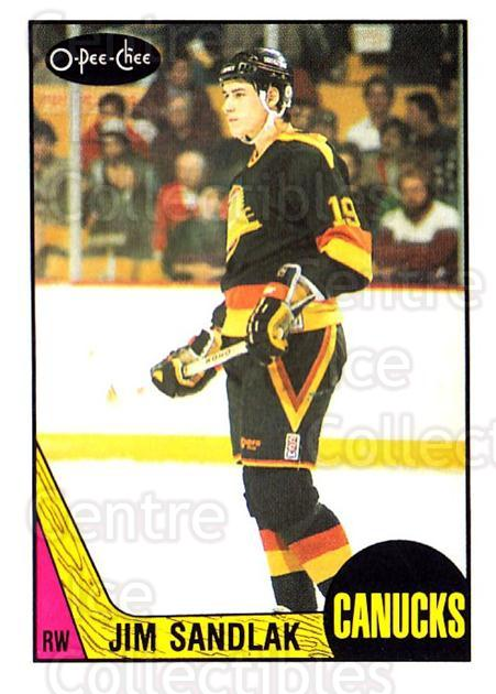 1987-88 O-Pee-Chee #264 Jim Sandlak<br/>4 In Stock - $1.00 each - <a href=https://centericecollectibles.foxycart.com/cart?name=1987-88%20O-Pee-Chee%20%23264%20Jim%20Sandlak...&quantity_max=4&price=$1.00&code=138927 class=foxycart> Buy it now! </a>