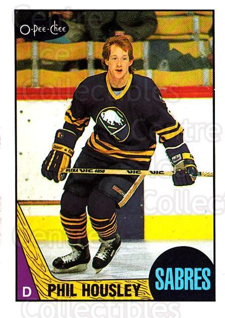 1987-88 O-Pee-Chee #33 Phil Housley<br/>8 In Stock - $1.00 each - <a href=https://centericecollectibles.foxycart.com/cart?name=1987-88%20O-Pee-Chee%20%2333%20Phil%20Housley...&quantity_max=8&price=$1.00&code=138935 class=foxycart> Buy it now! </a>