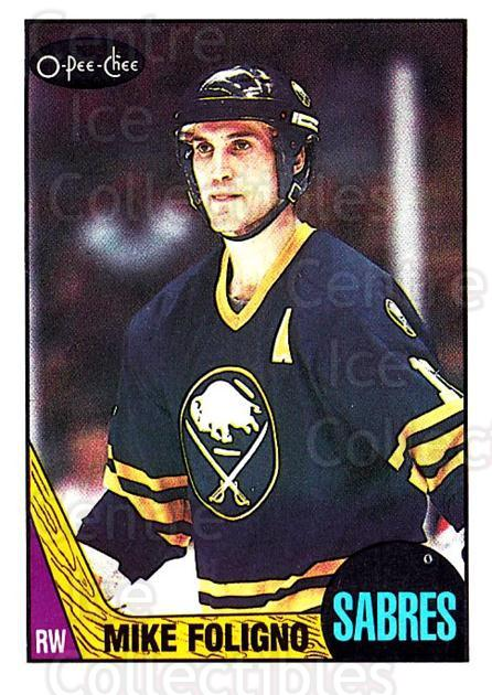 1987-88 O-Pee-Chee #40 Mike Foligno<br/>7 In Stock - $1.00 each - <a href=https://centericecollectibles.foxycart.com/cart?name=1987-88%20O-Pee-Chee%20%2340%20Mike%20Foligno...&quantity_max=7&price=$1.00&code=138943 class=foxycart> Buy it now! </a>