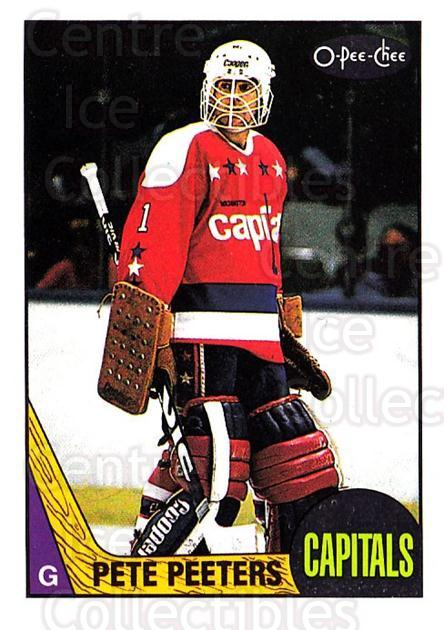 1987-88 O-Pee-Chee #44 Pete Peeters<br/>8 In Stock - $1.00 each - <a href=https://centericecollectibles.foxycart.com/cart?name=1987-88%20O-Pee-Chee%20%2344%20Pete%20Peeters...&quantity_max=8&price=$1.00&code=138946 class=foxycart> Buy it now! </a>