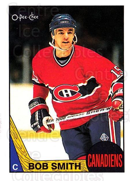 1987-88 O-Pee-Chee #48 Bobby Smith<br/>4 In Stock - $1.00 each - <a href=https://centericecollectibles.foxycart.com/cart?name=1987-88%20O-Pee-Chee%20%2348%20Bobby%20Smith...&quantity_max=4&price=$1.00&code=138950 class=foxycart> Buy it now! </a>
