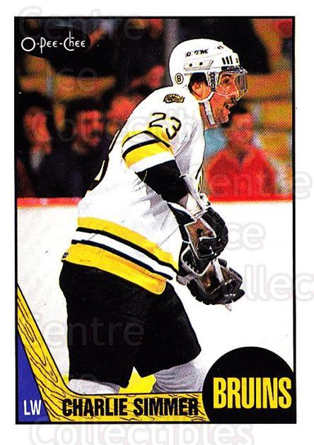 1987-88 O-Pee-Chee #52 Charlie Simmer<br/>6 In Stock - $1.00 each - <a href=https://centericecollectibles.foxycart.com/cart?name=1987-88%20O-Pee-Chee%20%2352%20Charlie%20Simmer...&quantity_max=6&price=$1.00&code=138955 class=foxycart> Buy it now! </a>