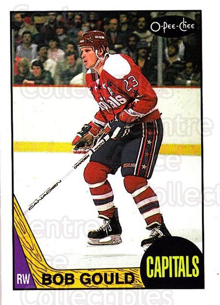 1987-88 O-Pee-Chee #55 Bob Gould<br/>8 In Stock - $1.00 each - <a href=https://centericecollectibles.foxycart.com/cart?name=1987-88%20O-Pee-Chee%20%2355%20Bob%20Gould...&quantity_max=8&price=$1.00&code=138957 class=foxycart> Buy it now! </a>