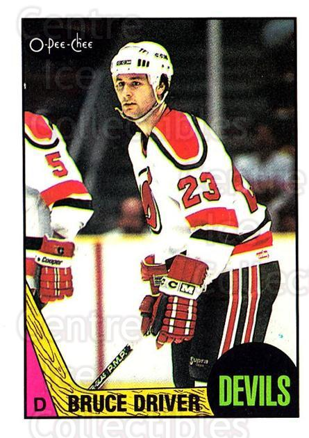 1987-88 O-Pee-Chee #79 Bruce Driver<br/>9 In Stock - $1.00 each - <a href=https://centericecollectibles.foxycart.com/cart?name=1987-88%20O-Pee-Chee%20%2379%20Bruce%20Driver...&quantity_max=9&price=$1.00&code=138980 class=foxycart> Buy it now! </a>