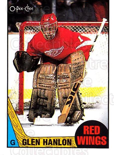 1987-88 O-Pee-Chee #89 Glen Hanlon<br/>7 In Stock - $1.00 each - <a href=https://centericecollectibles.foxycart.com/cart?name=1987-88%20O-Pee-Chee%20%2389%20Glen%20Hanlon...&quantity_max=7&price=$1.00&code=138991 class=foxycart> Buy it now! </a>