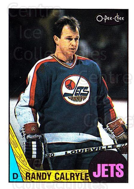 1987-88 O-Pee-Chee #9 Randy Carlyle<br/>6 In Stock - $1.00 each - <a href=https://centericecollectibles.foxycart.com/cart?name=1987-88%20O-Pee-Chee%20%239%20Randy%20Carlyle...&quantity_max=6&price=$1.00&code=138992 class=foxycart> Buy it now! </a>