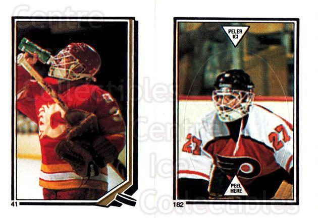 1987-88 O-Pee-Chee Stickers #041-182 Mike Vernon, Ron Hextall<br/>5 In Stock - $2.00 each - <a href=https://centericecollectibles.foxycart.com/cart?name=1987-88%20O-Pee-Chee%20Stickers%20%23041-182%20Mike%20Vernon,%20Ro...&quantity_max=5&price=$2.00&code=139029 class=foxycart> Buy it now! </a>
