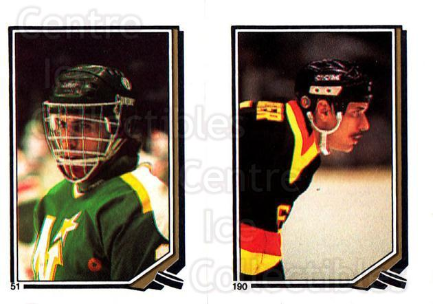 1987-88 O-Pee-Chee Stickers #051-190 Don Beaupre, Dave Richter<br/>9 In Stock - $2.00 each - <a href=https://centericecollectibles.foxycart.com/cart?name=1987-88%20O-Pee-Chee%20Stickers%20%23051-190%20Don%20Beaupre,%20Da...&quantity_max=9&price=$2.00&code=139039 class=foxycart> Buy it now! </a>
