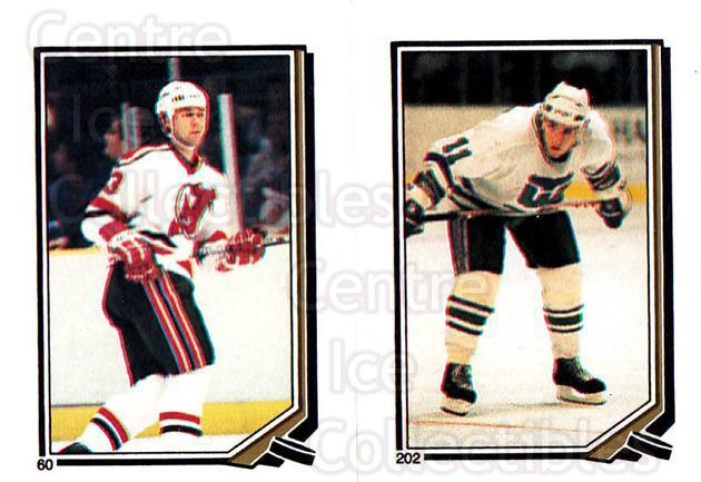 1987-88 O-Pee-Chee Stickers #060-202 Bruce Driver, Kevin Dineen<br/>1 In Stock - $2.00 each - <a href=https://centericecollectibles.foxycart.com/cart?name=1987-88%20O-Pee-Chee%20Stickers%20%23060-202%20Bruce%20Driver,%20K...&quantity_max=1&price=$2.00&code=139049 class=foxycart> Buy it now! </a>