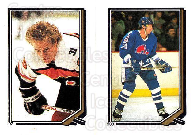 1987-88 O-Pee-Chee Stickers #097-230 Brian Propp, Robert Picard<br/>8 In Stock - $2.00 each - <a href=https://centericecollectibles.foxycart.com/cart?name=1987-88%20O-Pee-Chee%20Stickers%20%23097-230%20Brian%20Propp,%20Ro...&quantity_max=8&price=$2.00&code=139088 class=foxycart> Buy it now! </a>