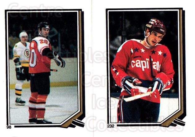 1987-88 O-Pee-Chee Stickers #098-232 Dave Poulin, Larry Murphy<br/>6 In Stock - $2.00 each - <a href=https://centericecollectibles.foxycart.com/cart?name=1987-88%20O-Pee-Chee%20Stickers%20%23098-232%20Dave%20Poulin,%20La...&quantity_max=6&price=$2.00&code=139089 class=foxycart> Buy it now! </a>