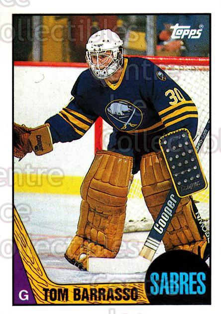 1987-88 Topps #78 Tom Barrasso<br/>6 In Stock - $1.00 each - <a href=https://centericecollectibles.foxycart.com/cart?name=1987-88%20Topps%20%2378%20Tom%20Barrasso...&quantity_max=6&price=$1.00&code=139169 class=foxycart> Buy it now! </a>