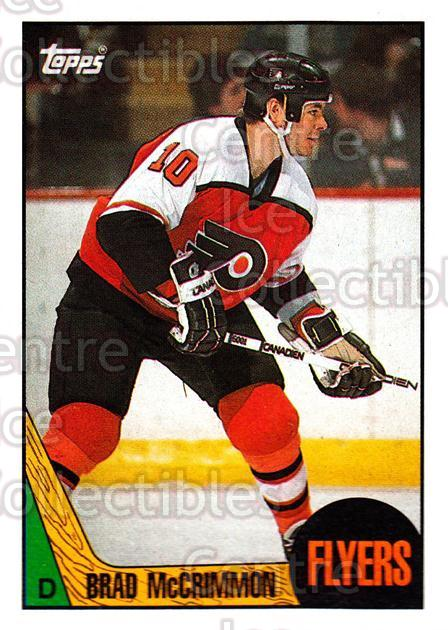1987-88 Topps #85 Brad McCrimmon<br/>5 In Stock - $1.00 each - <a href=https://centericecollectibles.foxycart.com/cart?name=1987-88%20Topps%20%2385%20Brad%20McCrimmon...&quantity_max=5&price=$1.00&code=139177 class=foxycart> Buy it now! </a>