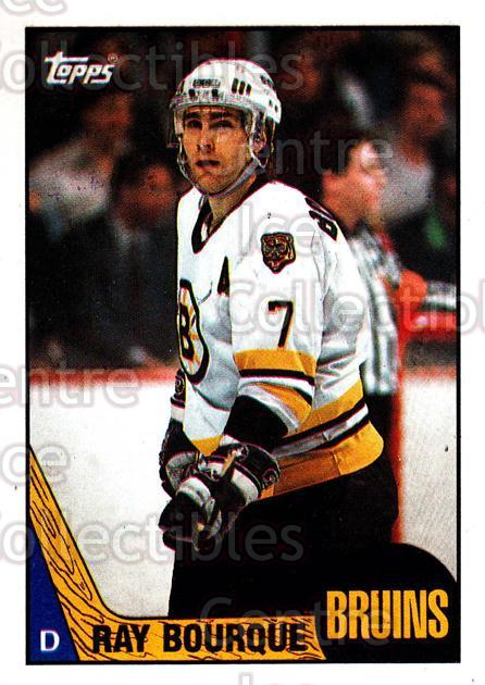 1987-88 Topps #87 Ray Bourque<br/>5 In Stock - $2.00 each - <a href=https://centericecollectibles.foxycart.com/cart?name=1987-88%20Topps%20%2387%20Ray%20Bourque...&quantity_max=5&price=$2.00&code=139179 class=foxycart> Buy it now! </a>