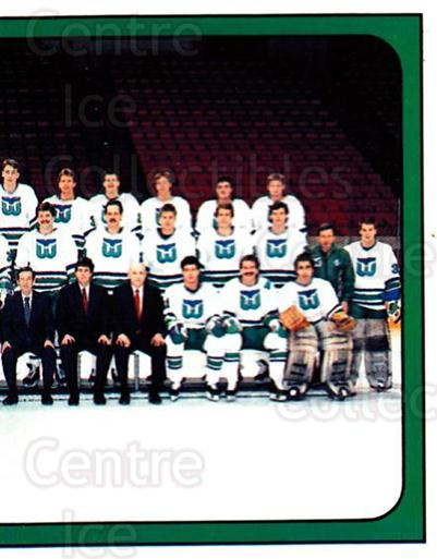 1988-89 Panini Stickers #248 Hartford Whalers, Team Photo<br/>5 In Stock - $1.00 each - <a href=https://centericecollectibles.foxycart.com/cart?name=1988-89%20Panini%20Stickers%20%23248%20Hartford%20Whaler...&price=$1.00&code=139285 class=foxycart> Buy it now! </a>