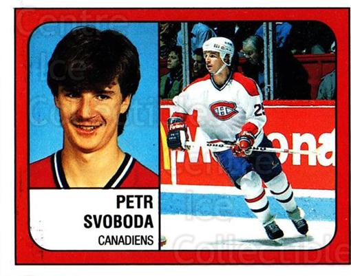 1988-89 Panini Stickers #255 Petr Svoboda<br/>1 In Stock - $1.00 each - <a href=https://centericecollectibles.foxycart.com/cart?name=1988-89%20Panini%20Stickers%20%23255%20Petr%20Svoboda...&quantity_max=1&price=$1.00&code=139292 class=foxycart> Buy it now! </a>